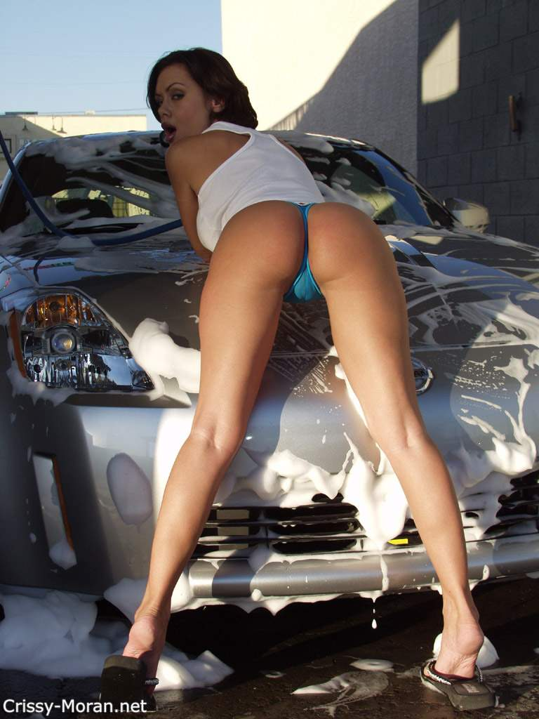 Car Babe Bent Over 55